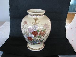 薩摩焼の花器